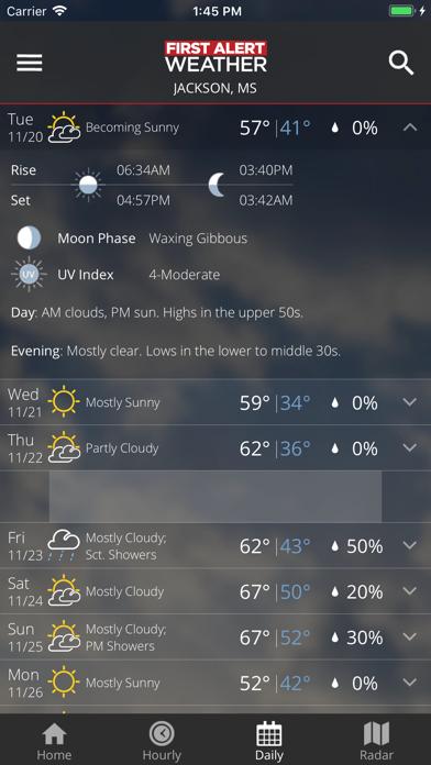 First Alert Weather review screenshots