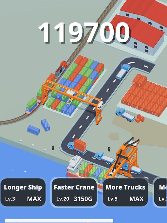 Idle Port Tycoon - Sea game screenshot 5