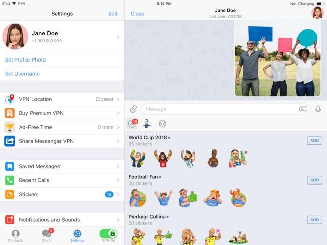 Messenger VPN Secure on the App Store