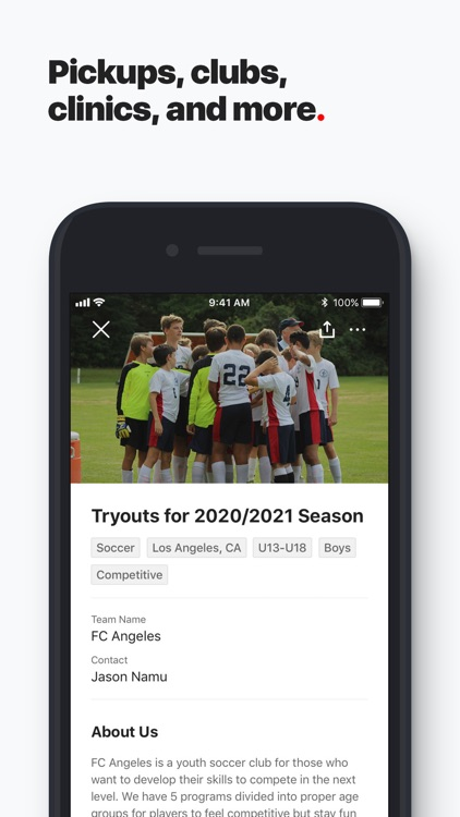 ENDALGO - Find Soccer Near You screenshot-5
