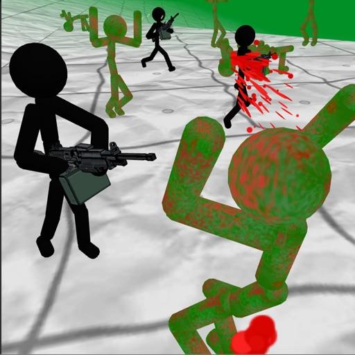 Stickman vs Zombies 3D