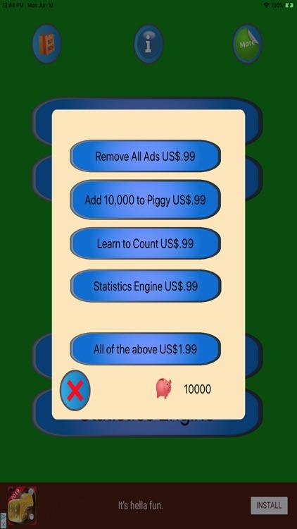 21+ Advanced BlackJack screenshot-5