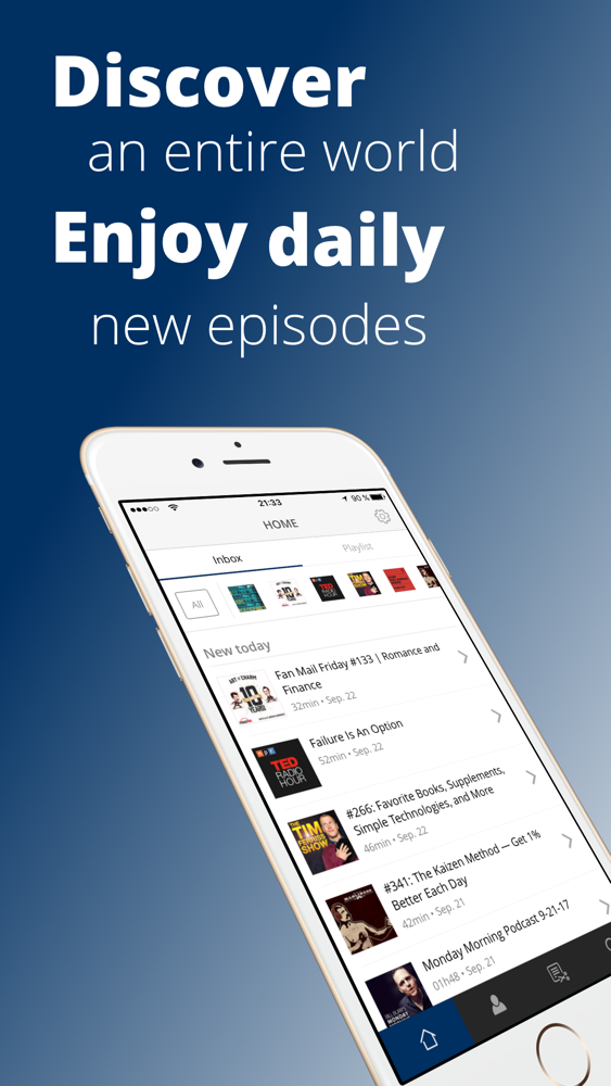 Procast Podcast App - Podcasts App for iPhone - Free