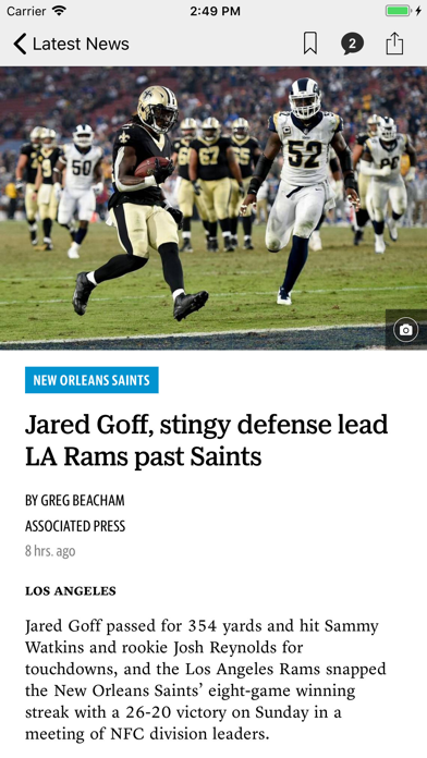 Biloxi Sun Herald News screenshot two