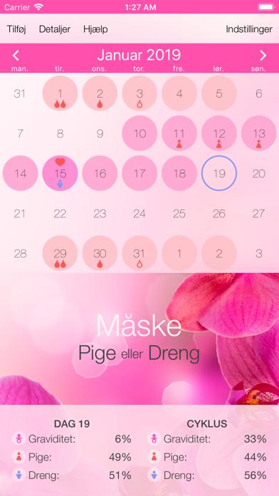 Screenshot for Ægløsningskalender in Denmark App Store
