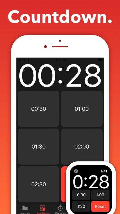 Interval Timer - Seconds screenshot-3