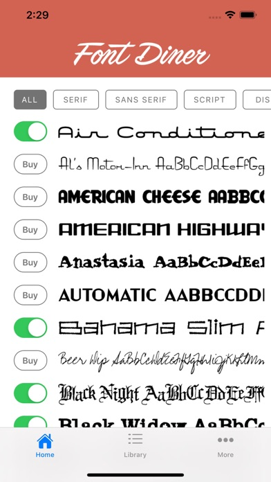 Font Dinerのおすすめ画像3