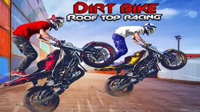 Dirt Bike Roof Top Racing FunScreenshot of 1