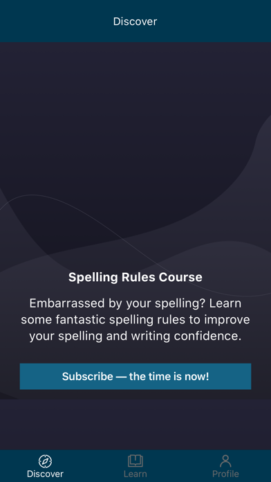 Spelling Rules Course screenshot 3