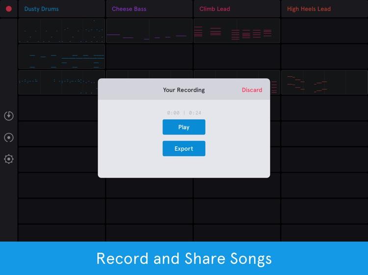 Auxy Jam - Simple Beat Maker screenshot-4