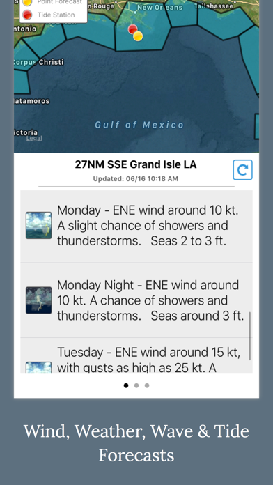 Fishing Weather Forecast App Report on Mobile Action - App
