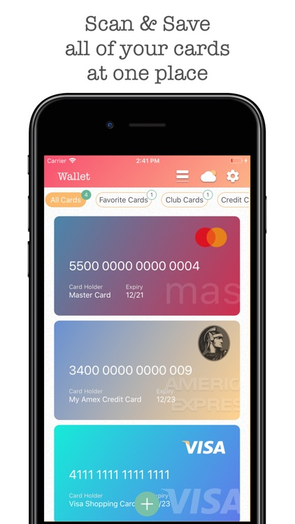 Wallet Pro - Credit Wallet screenshot-1