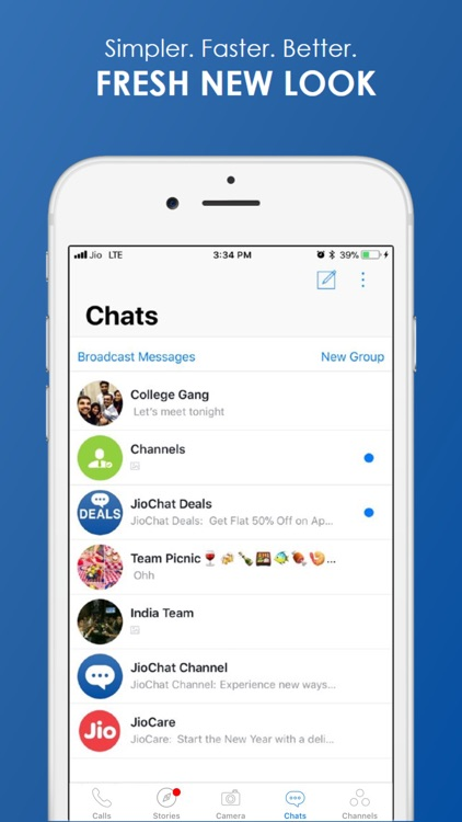 JioChat Video Messenger