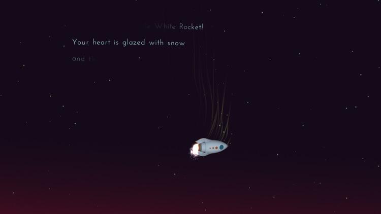 Little White Rocket: Let's fly screenshot-4