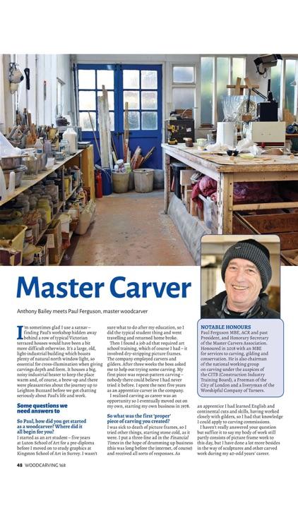 Woodcarving Magazine screenshot-5