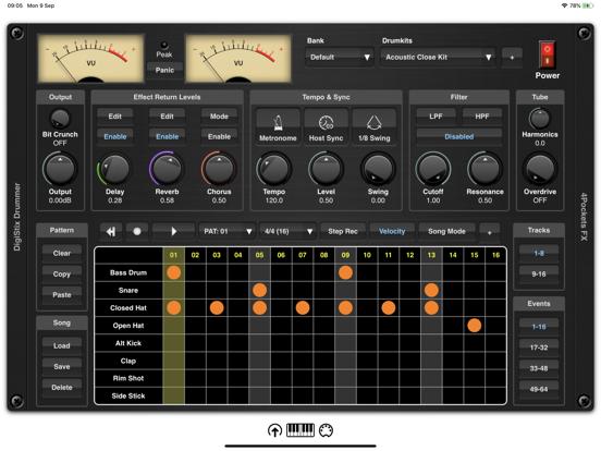 DigiStix Drummer AUv3 Plugin screenshot 9