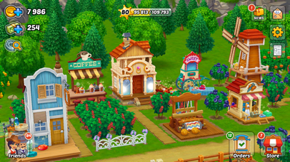 Wild West: New Frontier. Farm Screenshot on iOS