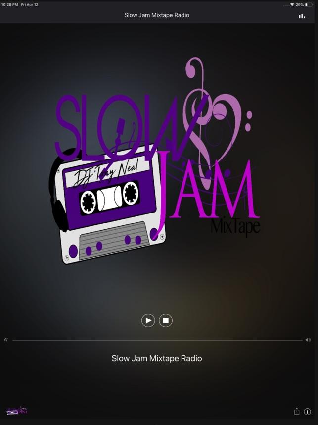 Slow Jam Mixtape Radio on the App Store