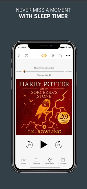 Audible: Listen to audio books on the App Store