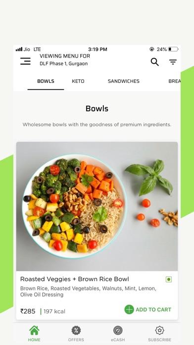 Healthie.in-Healthy Food Order screenshot two