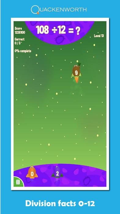 Fruit Rockets Multiplication screenshot two
