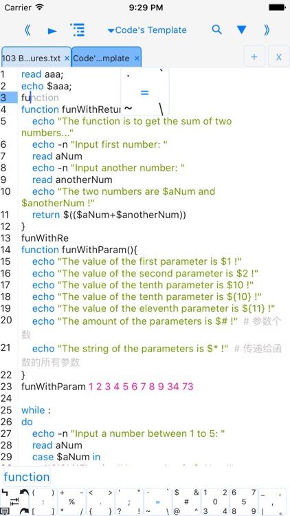 bashi - programming language screenshot-3