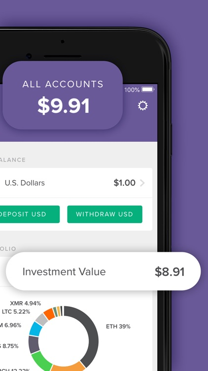 Circle Invest: Cryptocurrency screenshot-5