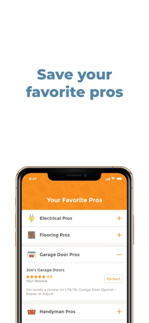 HomeAdvisor: Find a Contractor on the App Store