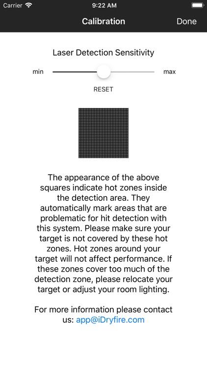 iDryfire Laser Target System screenshot-5