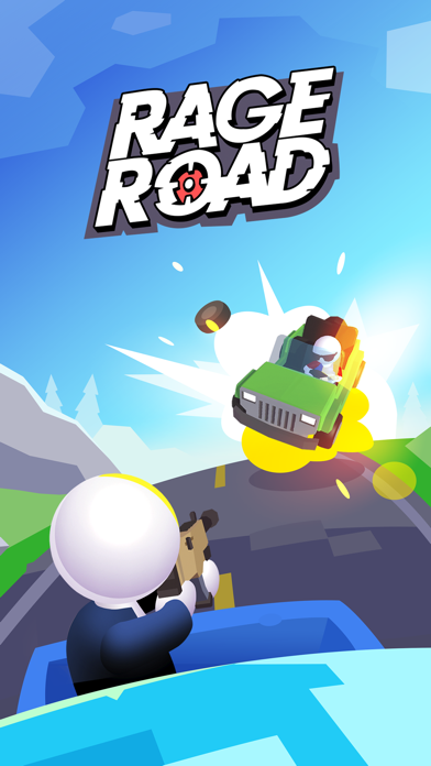 Rage Road - Car Shooting screenshot 5