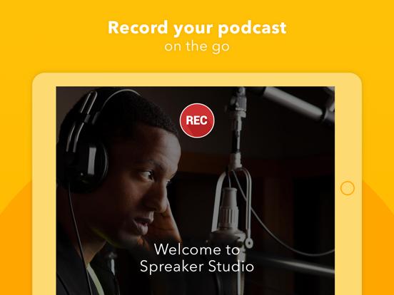 Spreaker Studio screenshot