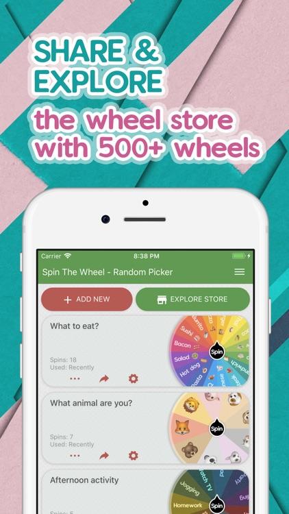 Spin The Wheel - Random Picker screenshot-4