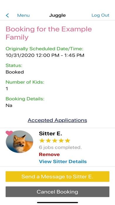 Juggle - Babysitting & More screenshot three