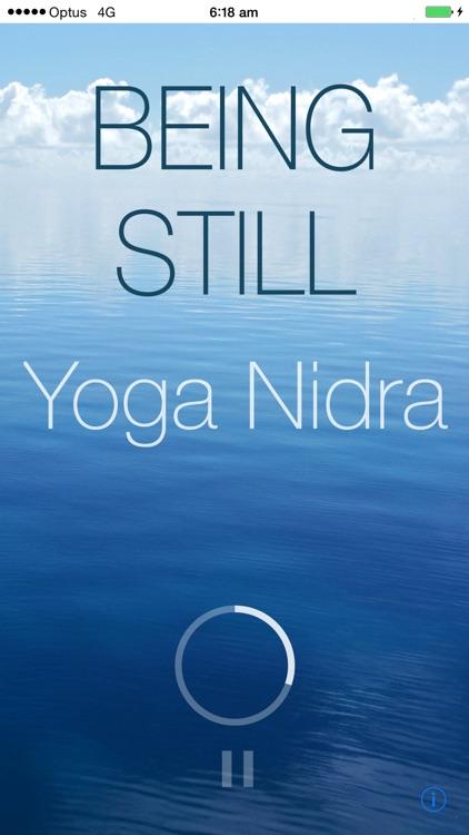 Being Still - Yoga Nidra