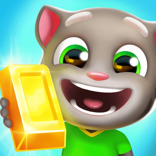 Download Talking Tom Gold Run free for iPhone, iPod and iPad