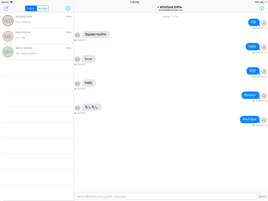 ChatSecure Messenger by Chris Ballinger (iOS, United States