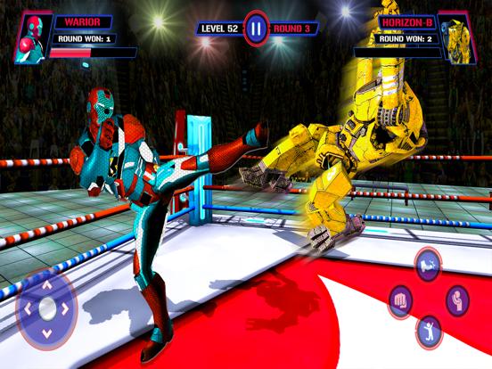 Robot Fight Ring VS Heros screenshot 5