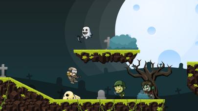 Zombies 2D: Run & Gun screenshot three