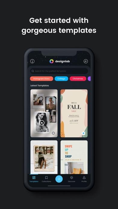 Designlab review screenshots