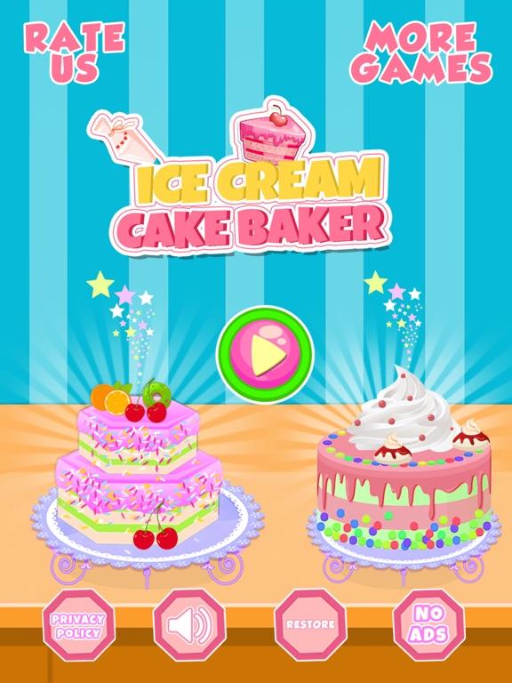 Ice Cream Cake Baker Shop screenshot #1