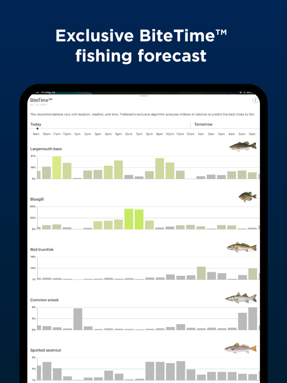Fishbrain - Social Fishing Forecast App screenshot