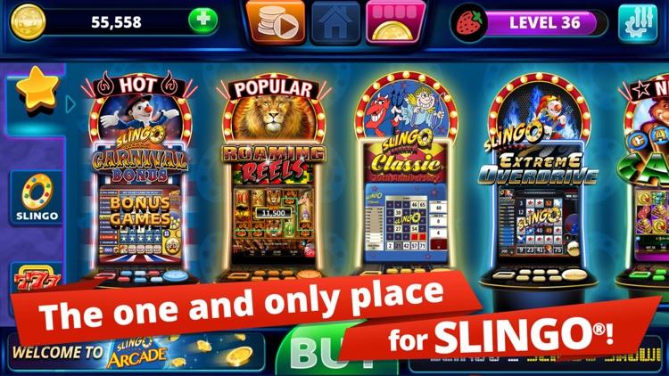 Slingo Arcade - Bingo & Slots screenshot-0