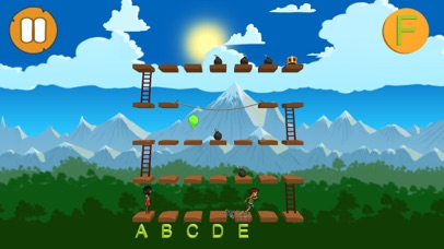 Alphabet and Ladders - LITE screenshot 1