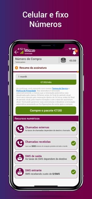 a6c0b7c278 Numero – Numero Virtual na App Store