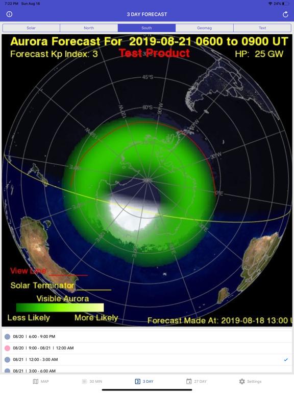 Aurora Forecast & Alerts screenshot 17