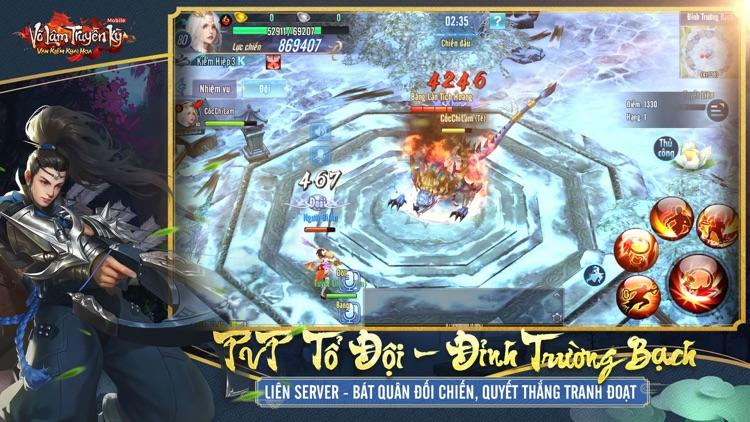 Võ Lâm Truyền Kỳ Mobile - VNG screenshot-3