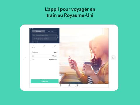 Screenshot #4 pour Trainline : Billets & horaires