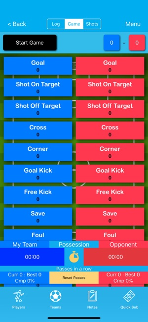 Soccer Stat Recorder 3000 on the App Store