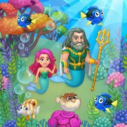 Aquarium Farm: mermaid story