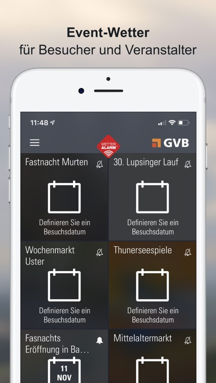 Wetter-Alarm: Wetter Schweiz screenshot-6